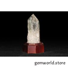 минерал Горный хрусталь на подставке 3х3х8 см
