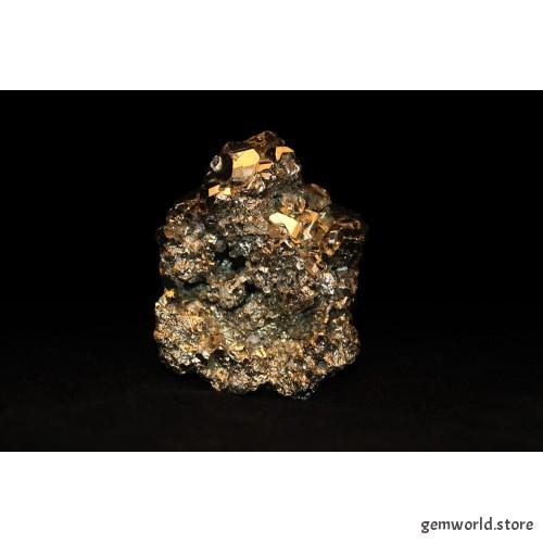 Пирит друза - 4х5.5х5 см