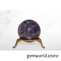 минерал Аметист шар 4.5 см