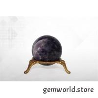 минерал Аметист шар 4.1 см