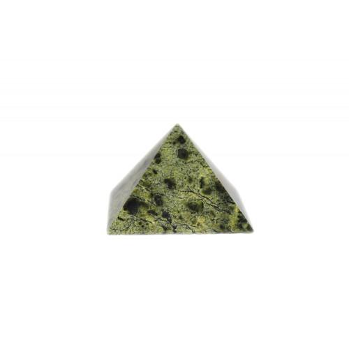 минерал Змеевик пирамида №1