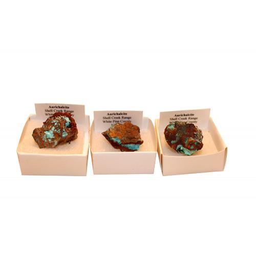 минерал Аурихальцит 2.5х2х1.5 см