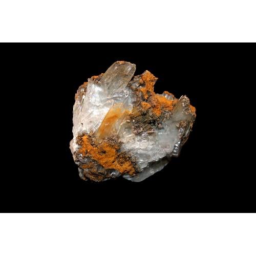 минерал Барит голубой 3.5х4.5х3.5 см
