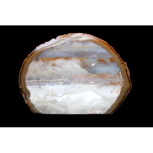минерал Агат(срез) 4х11х9 см
