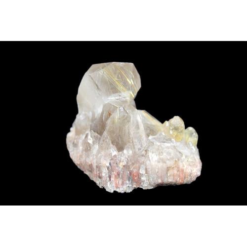 минерал Кварц с рутилом 6.5х3.5х5 см