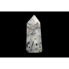 минерал Кварц с турмалином 2х2.5х6 см