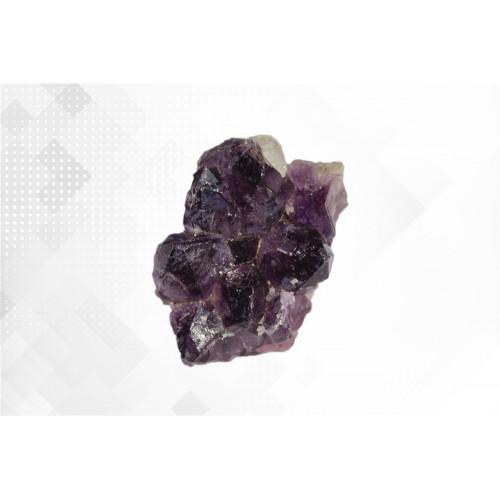 минерал Аметист с кальцитом 4х5.5х6 см