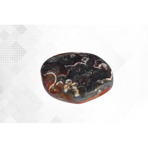 минерал Агат crazy 4х4.5х1 см