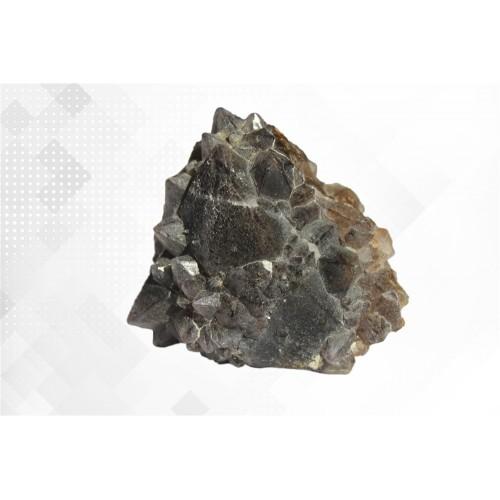 минерал Кварц с гётитом 6.5х6.5х4 см
