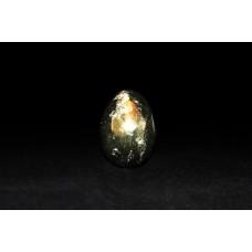 минерал Халькопирит яйцо 3х3х4 см