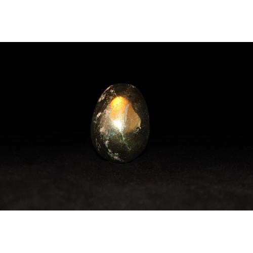 минерал Халькопирит яйцо 2.5х2.5х3.5 см