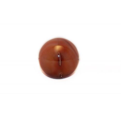 минерал Сердолик шар диаметр 5 см