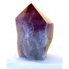 минерал Аметист кристалл 6х6х11 см