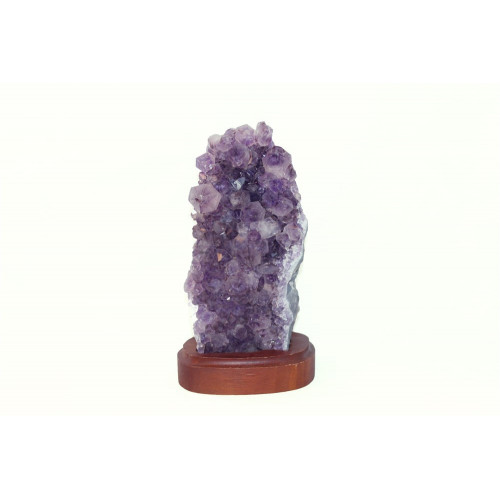 минерал Аметист на подставке 3х7х18 см
