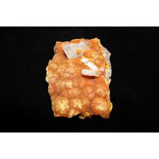 минерал Аурипигмент с кальцитом 5х7х1.5 см
