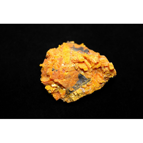 минерал Аурипигмент 6х6х2.5 см