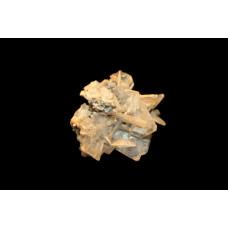 минерал Барит на пирите 3х5.5х5 см