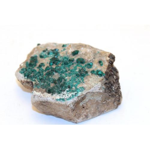 минерал Диоптаз 7х6х2 см