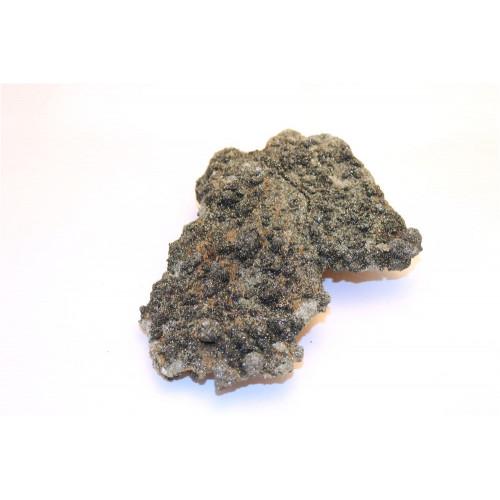 минерал Кварц с хлоритом 18х13х4 см