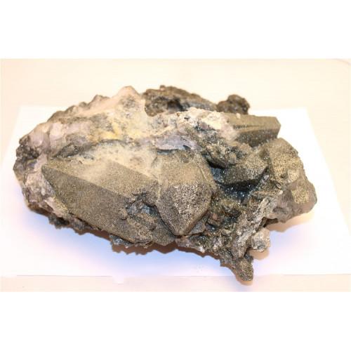 минерал Кварц с хлоритом 21х21х8 см