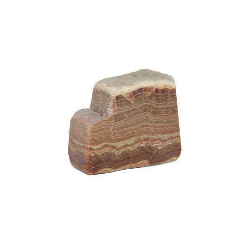 минерал Оникс мраморный 4х9х7.5 см