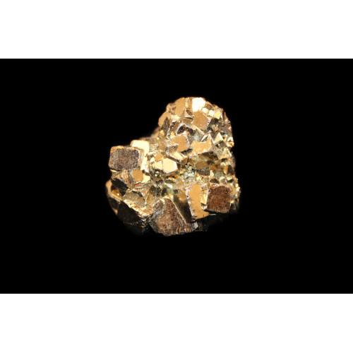 минерал Пирит друза 2.2х3х3.5 см