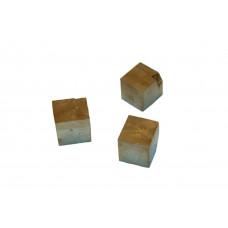 минерал Пирит кубики 1х0.9х0.9 см