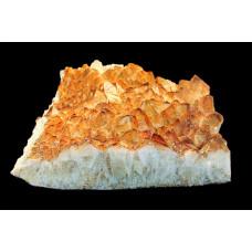 минерал Цитрин друза 38х39х12 см