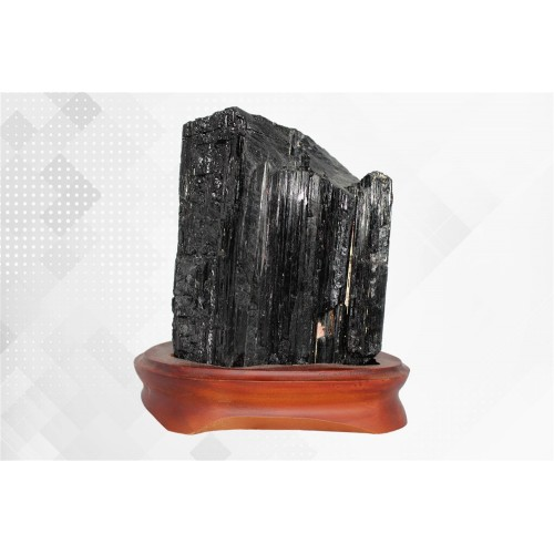 минерал Турмалин черный (Шерл) 10х12х17 см